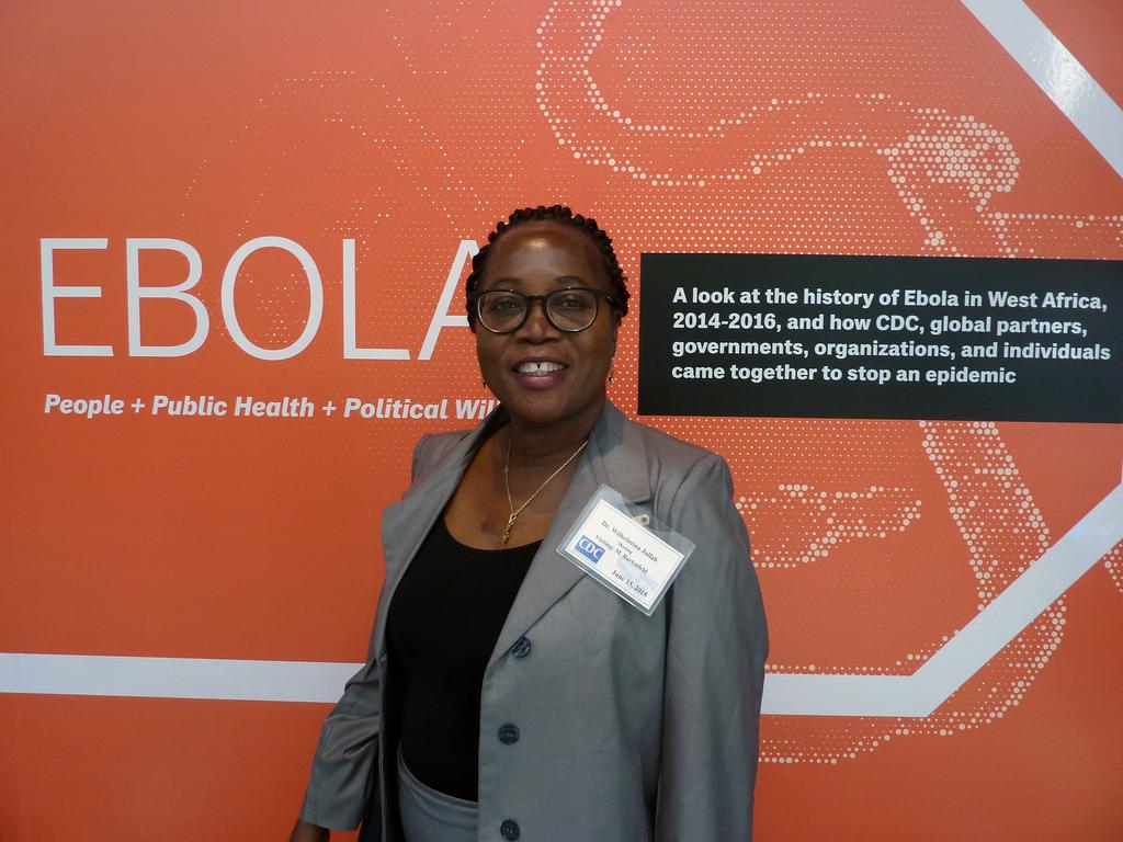 Liberia Health Minister Dr. Wilhemina Jallah