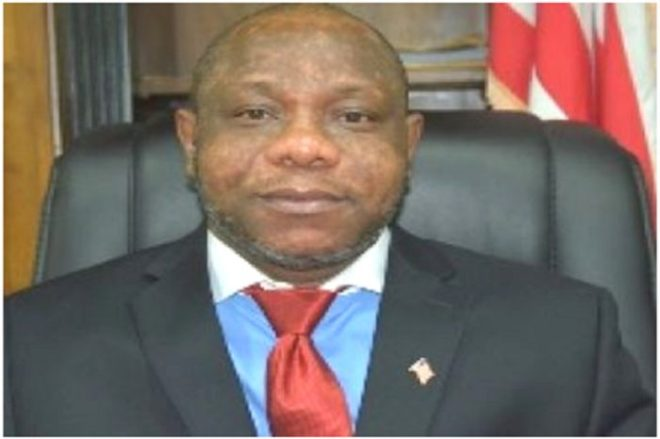 Finance and Planning Minister Samuel Tweah