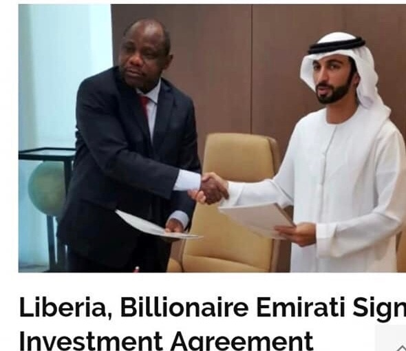 "Liberia: New Dubai Billionaire Investor Has ""Controversial Past"" In Ghana"