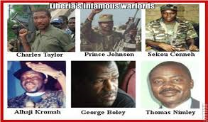 Former Liberian Militia Leaders