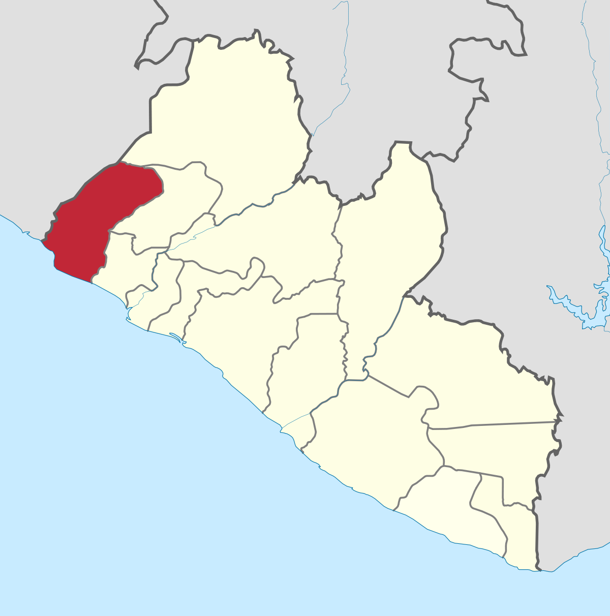 Liberia Grand Cape Mount County